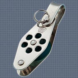 Afficher plus d'informations du produit Poulie simple anneau ringot réa 24 Wichard