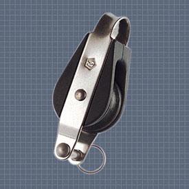 Afficher plus d'informations du produit Poulie simple anneau ringot réa 25 Wichard