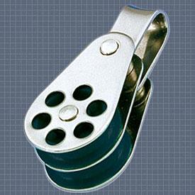 Afficher plus d'informations du produit Poulie double anneau réa 24 Wichard