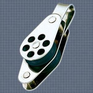 Afficher plus d'informations du produit Poulie double anneau ringot réa 24 Wichard