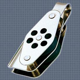 Afficher plus d'informations du produit Poulie double anneau ringot coinceur réa 24 Wichard