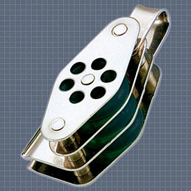 Afficher plus d'informations du produit Poulie triple anneau ringot coinceur réa 24 Wichard