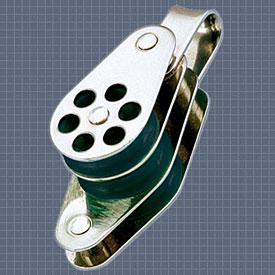 Afficher plus d'informations du produit Poulie triple anneau ringot réa 24 Wichard