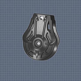 Afficher plus d'informations du produit Poulie plat pont vis 6 mm réa 55 Wichard